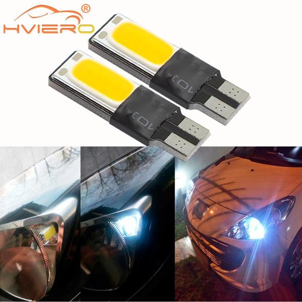 T10 Cunha LED Canbus OBC Livre de Erros W5w lâmpadas COB Auto Car Levou Lâmpadas de Estacionamento móvel luz de Sinal marcador Lateral Lâmpada de Leitura DC 12 V