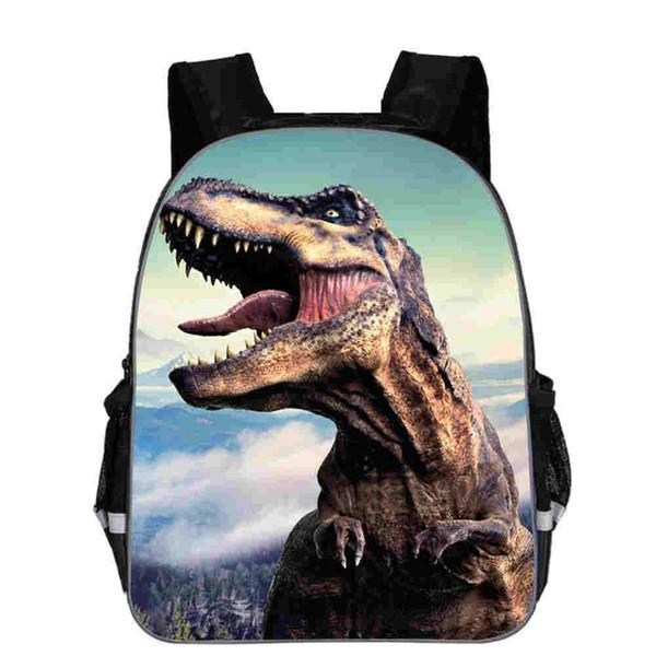 11-16 inç 3D Dinozor Sırt Çantaları Erkek Kız Omuz Okul çantası Satchel Okul Çantalarını Sırt Çantası Çocuklar açık sırt çantaları 24 stilleri