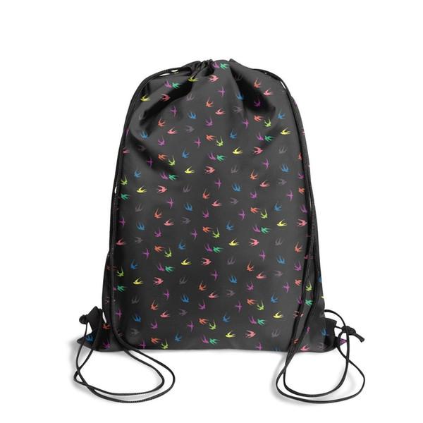 Esportes mochila Twenty One Pilots Andorinha moda popular Pacote Clássico ajustável pacote de esportes saco atlético saco de Viagem Pacote de Tecido b