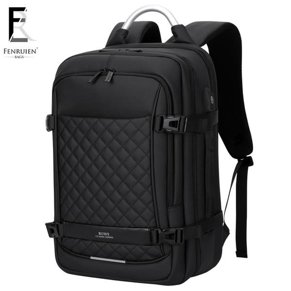 FRN Men Backpack Multifunction USB 17 Inch Laptop Mochila Fashion Business Large Capacity Waterproof Travel Backpack For Men #34907