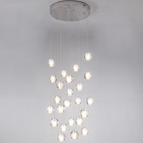 Moderno G4 LED Luces Pandant Múltiples Lámparas de Escalera Accesorios de Moda Salón Dormitorio Decora Restaurante Comedor Cocina Iluminación