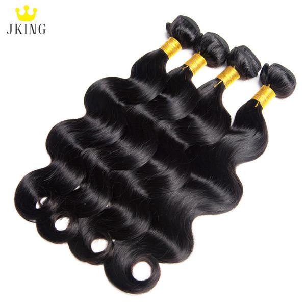 10A Brezilyalı İnsan Saç Düz / Vücut Dalga / Sapıkça Kıvırcık 4 Demetleri ile Kapatma ile 100% Işlenmemiş Bakire Saç 13x4 Frontal veya 4x4 Kapatma