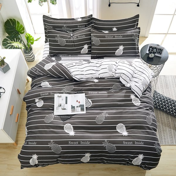 Bedding Set Comforter Cover with Pillow Cover Bedding Single Double Twin Full Queen King Size for Kids and Adults Free Shipping