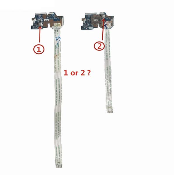 LS-7912P Para Acer Aspire E1-531 V3-551 V3-551 V3-571 NV56R NE56R Tablero del botón de encendido con el cable totalmente probado