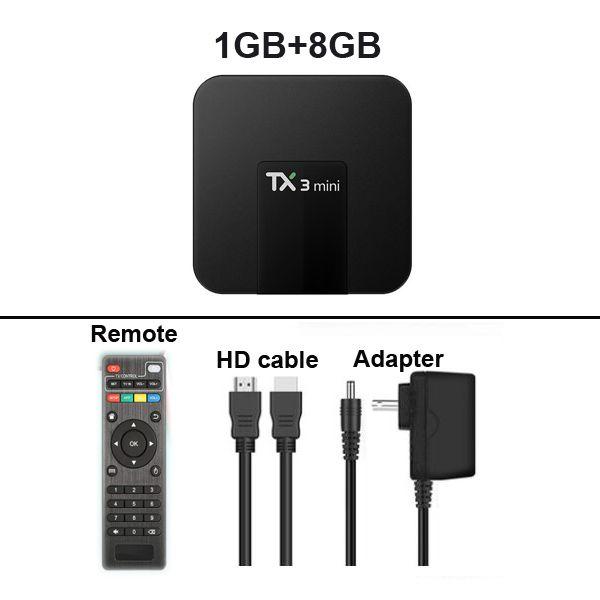 1GB + 8GB