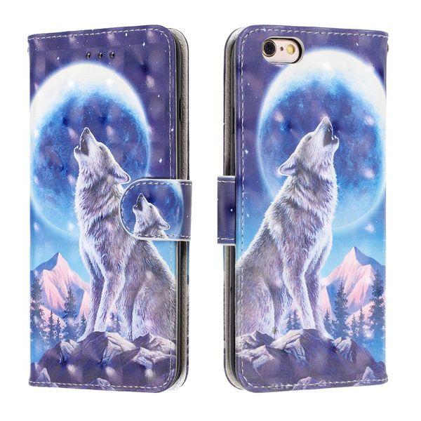 iPhone X Case,iPhone 10 Case, Print Floral Case PU Leather Folio Flip Protective Case