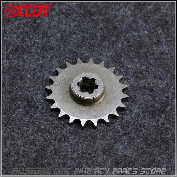 17T 20T o T8F Diente cadena de transmisión de engranajes dentados para 2 Stroke bicicleta de transmisión del motor de gasolina de bolsillo Mini Moto Vespa