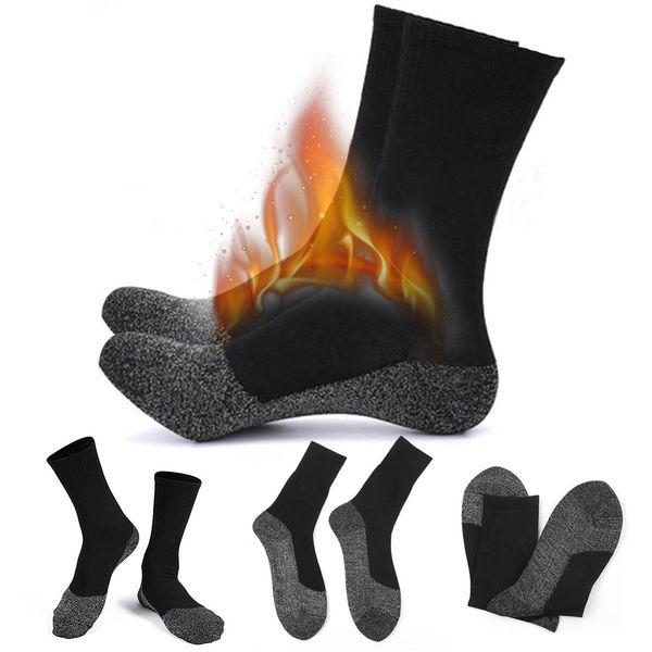 Winter Socken Baumwolle Warme Thermische Lange Skisocken Unisex Elastische Weiche Outdoor Schnee Sport Frühling Herren Zubehör