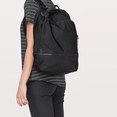 Lu Yoga Bag Waterproof Travel Backpack Book Sport School Bag Women Designer Shoulder Bags