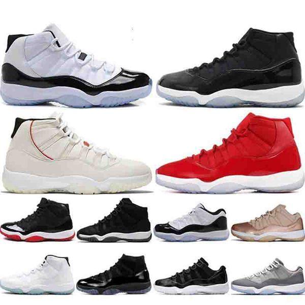 2019 11 11s Concord 45 Баскетбольные кроссовки Low SE Snakeskin Мужчины Женщины Кепка и платье Пром Ночная мода Роскошные мужские женские дизайнерские сандалии обувь