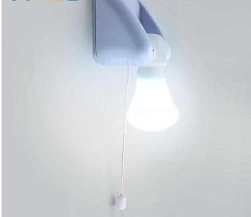 2019 For Bedroom Corridor Toilet Wire Switch Portable Wall Mount Cabinet Lamp Night Light Battery Bulb