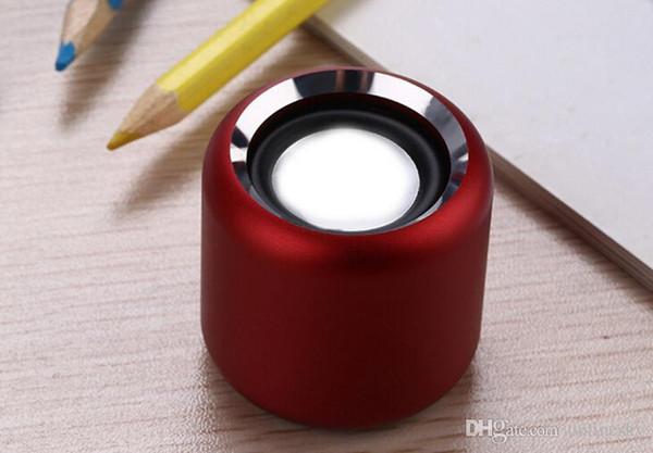 2019 Haut-parleur bluetooth sans fil Super Size Mini TWS avec boîte métallique, plusieurs couleurs à choisir par dhl