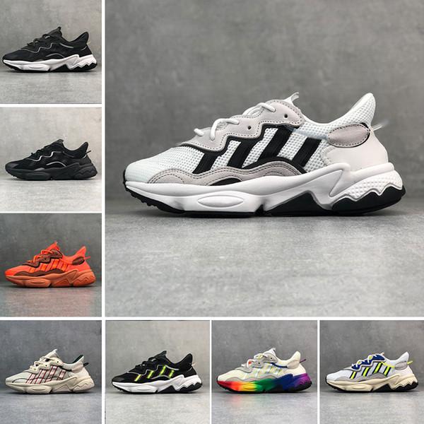 Adidas Ozweego adiPRENE shoes luxo 3 m reflexivo xeno ozweego para homens mulheres velocidade calabasas calçados casuais instrutor de esportes designer de tênis chaussures 36-45
