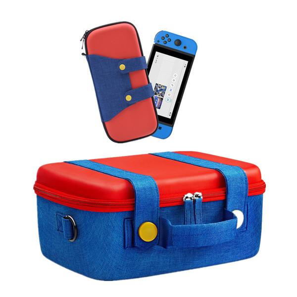 Para Nintend Mudar Jogo saco de transporte Caso duro de EVA desembolsar portátil Bolsa de transporte Bolsa de protecção Bolsa Mudar pro controlador de viajar tampa