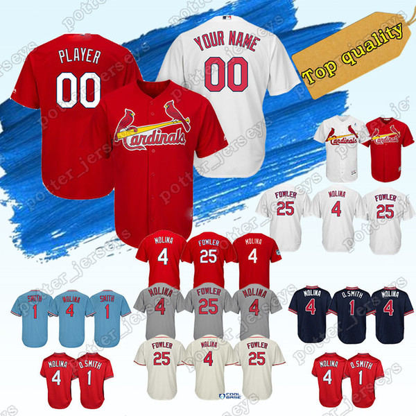 outlet store 3913b 68b95 2019 St. Louis Custom Cardinals Baseball Jersey 12 Paul DeJong 53 John Gant  32 Jack Flaherty 27 Brett Cecil 59 Mike Mayers Baseball Jerseys From ...