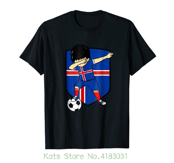 online store d1d44 b6138 Iceland Shield Dab Boy Flag National Soccerite Team Tshirt T Shirt Summer  Novelty Cartoon T Shirt Best T Shirts Shirts Online From Jie21, $12.08| ...