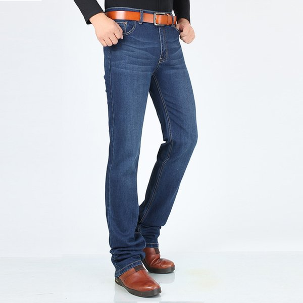 Just for Tall Men 192cm-198cm Men's Extended Edition Jeans Long 120 cm High Stretch Slim Fit Jeans