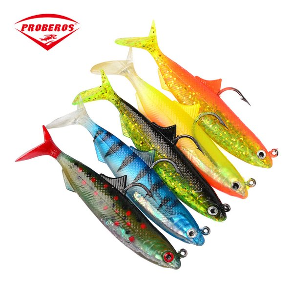 PRO BEROS 5pcs/lot New 5 color Bait Fishing lure package lead fish solid store fishing gear 10.5cm lure wholesale 21g