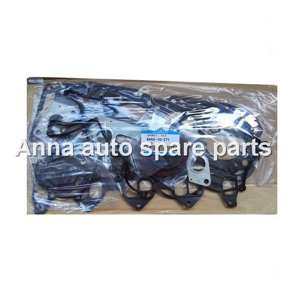 top popular Engine rebuilding kits WL gasket set 8ASX-10-271 for Mazda 2499cc 2.5TD WLT 1999- auto parts 2019