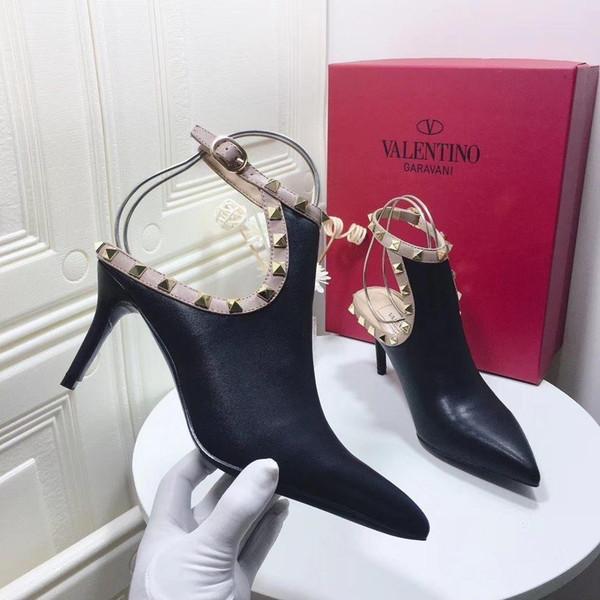 Женщины Высокие каблуки ботинок платья партии девушки Остроконечные Toe Пряжка платформы насосы Свадебная обувь