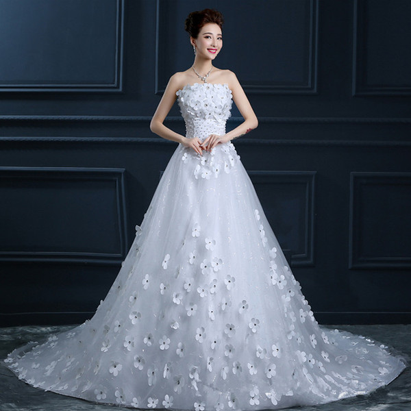 Newest Luxury Vintage Wedding Dresses With Tulle A Line Chapel Train Lace Beaded Corset China Wedding Dress Bridal Gowns with Peplum