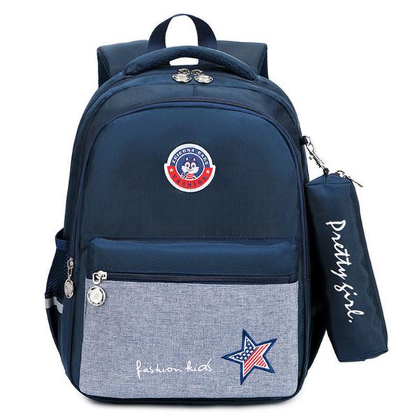 Borsa bambini ziani per la scuola di sicurezza riflettente bambini striscia scuola borsa da viaggio zaini Ultralight Mochila Escolar impermeabile
