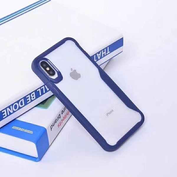 2019 Hawkeye shockproof acrylic for iphone 7 plus armor case pc+tpu back cover for goophone x designer phone case for Huawei P30
