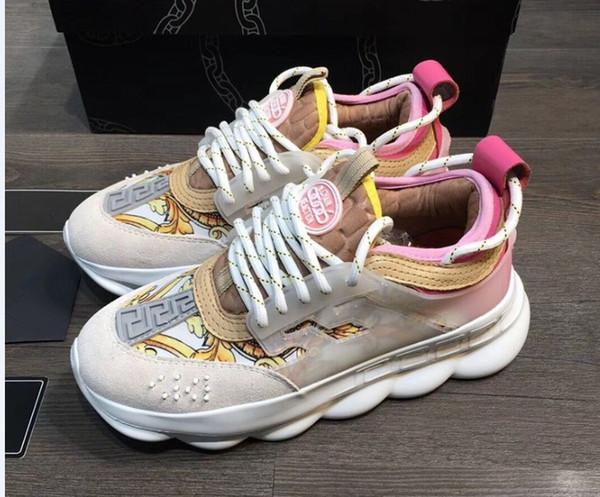 2019 été nouveau couple respirant chaussures de sport chaussures à fond épais chaussures Medusa chaussures hommes et femmes mn89604