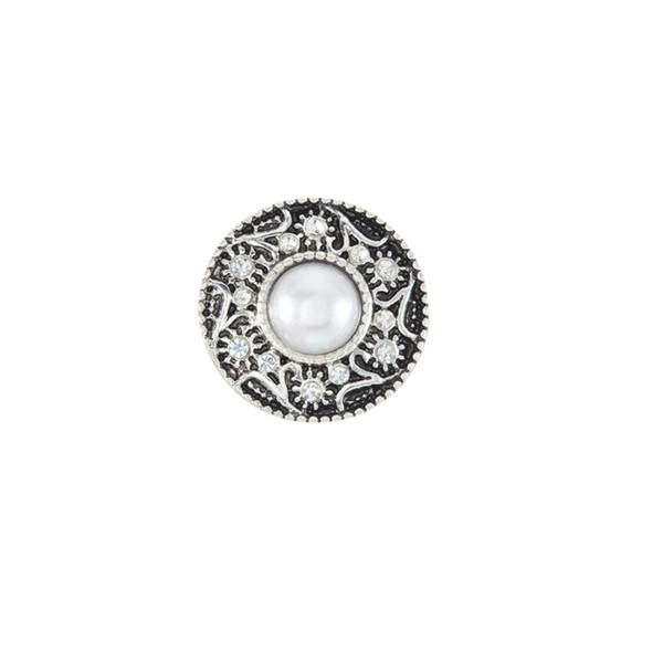 20pcs Snaps jewelry 18mm Snap Button Fit Choker Buttons Watch Button Bracelets for women Snaps Jewelry