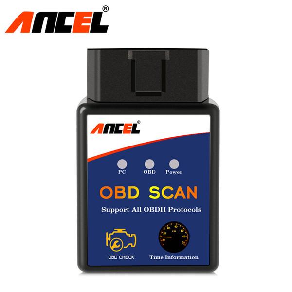 Upgrade MINI OBD2 ELM327 Bluetooth Car Diagnostic Scan Tool ELM327 IOBD2 Scanner Automotriz for Android Phone Fault Code Reader