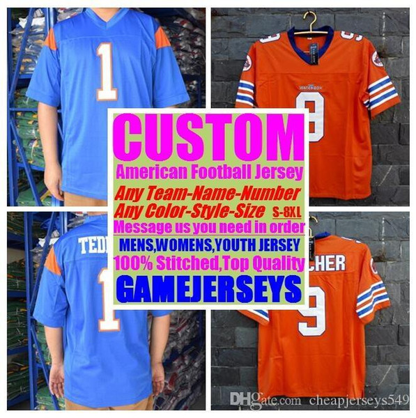 top popular 2019 Personalized american football jerseys college cheap authentic olive camo sports jersey stitched men womens youth kids 4xl 5xl 6xl 7xl 2019