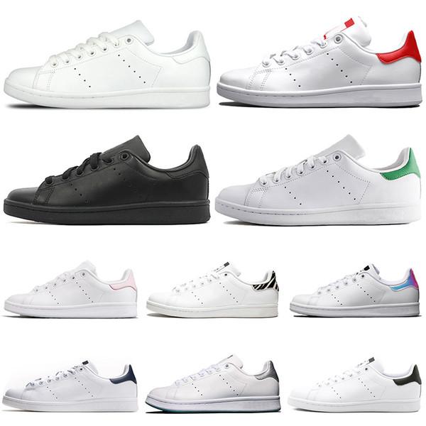 adidas stan smith rahat ayakkabılar Plaka-forme erkekler kadınlar Chaussures Üçlü Beyaz Siyah Zebra Çiçek Moda tasarımcısı ayakkabı stan Flats sneakers 36-45