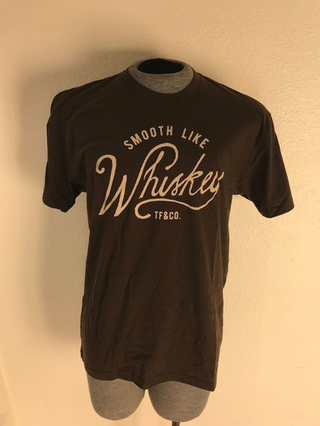 Tank Farm | Smooth like Whiskey | Ultra Soft Comfortable Brown Tee | Size: XL Funny free shipping Unisex Casual Tshirt
