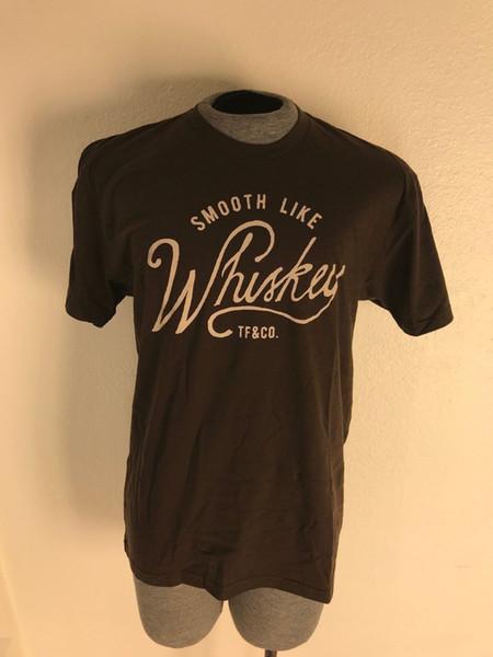 Parc de stockage | Lisse comme du whisky | T-shirt marron confortable et ultra doux | Taille: XL Funny expédition gratuite Unisexe Casual Tshirt