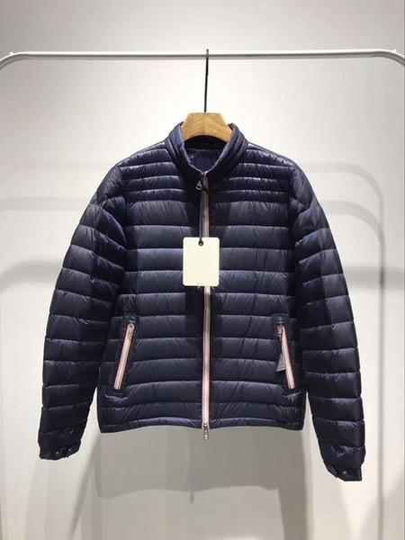 mince Veste d'hiver la meilleure qualité de chaud Plus Size Man Down et veste parka anorak M115 DANIEL hommes