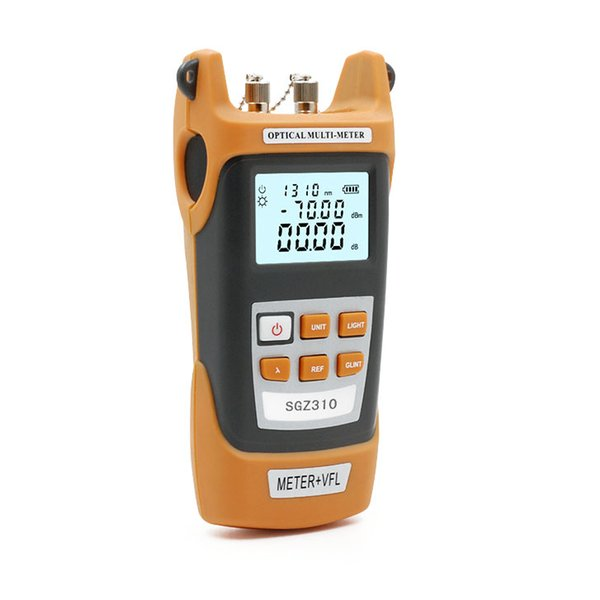 Freeshipping Fiber Optic Cable Tester Fiber Optic Visual Fault Locat Light Source Pen One Machine With SC/FC Adapter