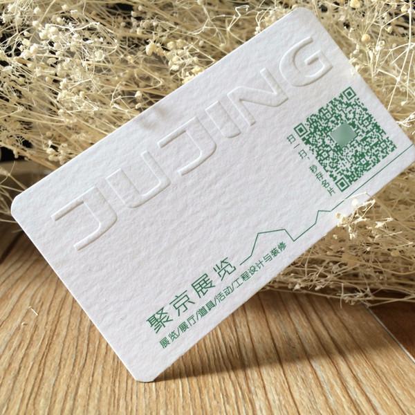 Großhandel Kundenspezifische Prägung Druck Baumwollpapier Visitenkarte Luxus Visitenkarte Von Hellen8599 140 71 Auf De Dhgate Com Dhgate