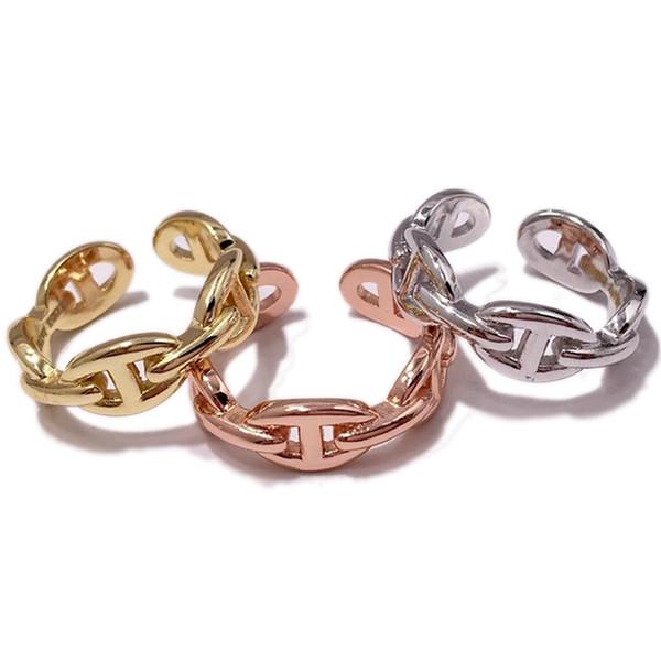 2019 neue Damen Schwein Nase Ohrringe Stud exquisite High-End-925 Sterling Silber, elegant und edel Designer-Schmuck für Frauen