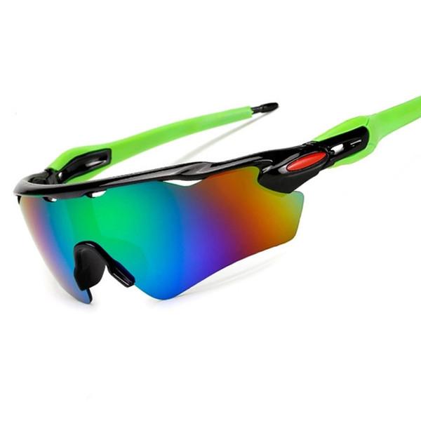 Gafas de sol de bicicleta Motionbreak rompevientos a prueba de explosiones Aire libre Gafas / 9275 Ancho sencillo Resina lentes tácticas