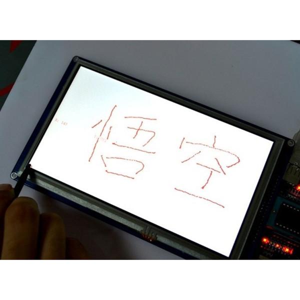 Yeni Sıcak 7 Inç TFT LCD Dokunmadan Paneli 800 * 480 Ekran Modülü SSD1963 NV99