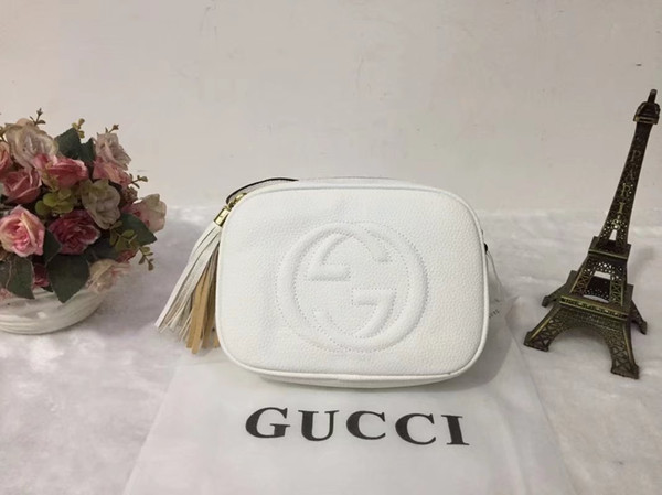 New Clssic Art und Weise Frauen-Schulter-Handtaschen-Dame Messenger-Taschen Female Außen Troddel-Kreuz-Körper-Geldbeutel