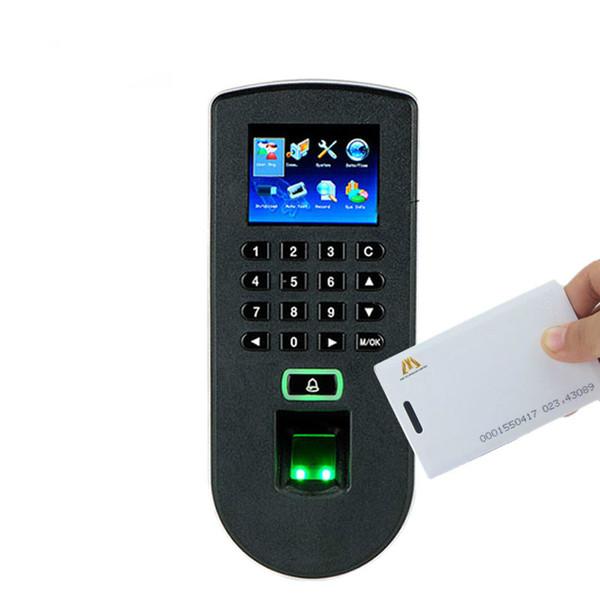 TF1900 Biometrisches Fingerabdruck-Zeiterfassungs- und Zutrittskontrollsystem ZK F19 Fingerabdruck- und RFID-Kartentür-Zutrittskontroller