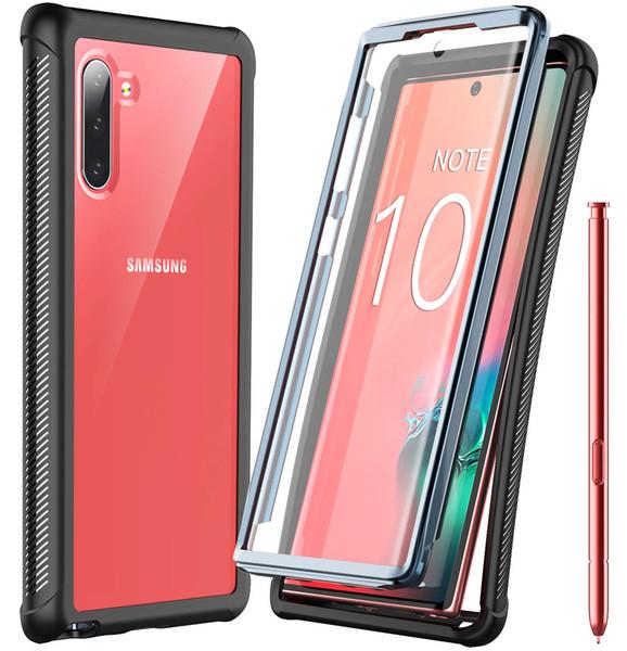 Pour Samsung Galaxy Note 10, Protecteur d'écran intégré Protéger tout le corps, Protection de la caisse, Charge sans fil, Charge lourde, Antichute, Antichoc