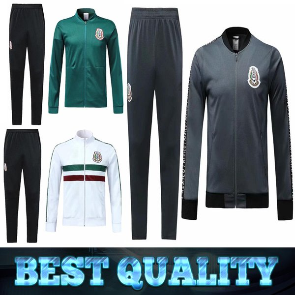 2019 Mexico soccer Jacket tracksuit 19 20 Mexico CHICHARITO national team camisetas de futbol training suit Football jacket sportswear sets