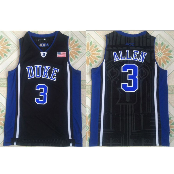 Mens Grayson Allen Jersey Duke Blue Devils College Basketball Jerseys High Quality Stitched Name&Number Size S-2XL