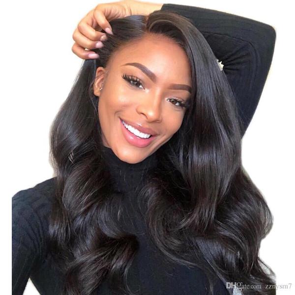 Perulu 360 Dantel Frontal Peruk Vücut Dalga 150 Yoğunluk Remy İnsan Saç Peruk 13x4 Ön Koparıp Siyah Kadınlar Için Dantel Ön Peruk