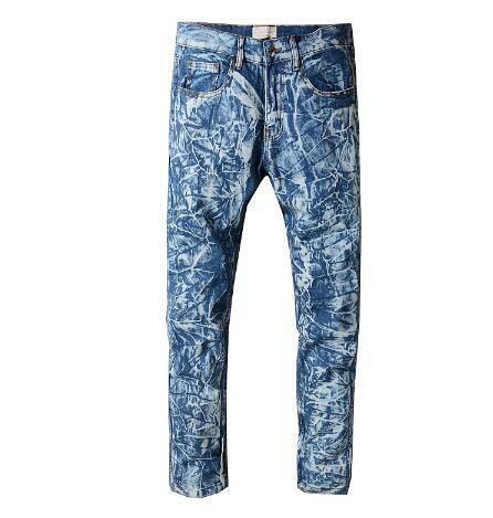 Men Jeans Ripped Fashion Designer Blue Rock Star Mens Jumpsuit Designer Denim Male Pants