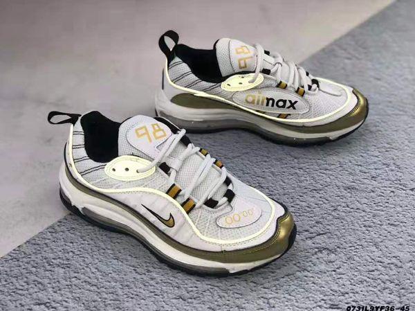 sapatos 2020designer Chegada Nova 001Mens Womens Running Shoes Cushion prata Sapatilhas ouro Atlético Designers Sports Outdoor Shoes36-45