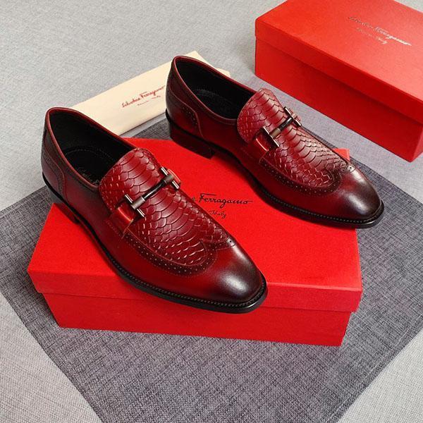 chaussures de qualité supérieure robe des hommes de la mode de luxe mariage partie chaussures de sport bouton métal bande vrai travail mode cuir shoess taille 38-45