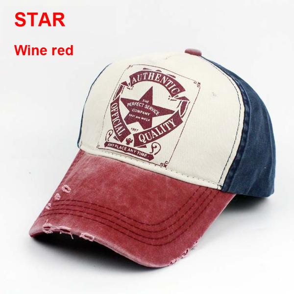Yıldız şarap kırmızı